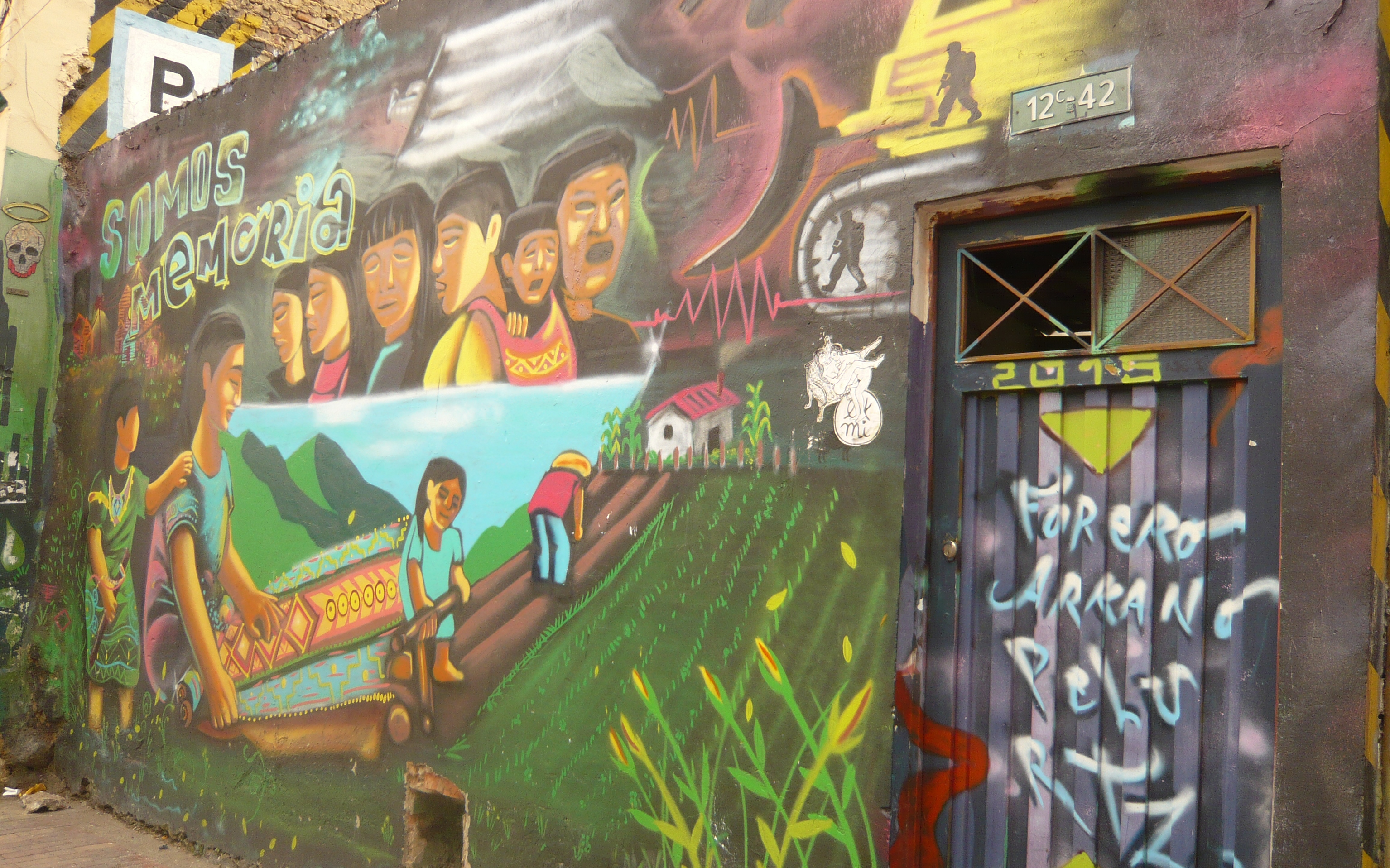 Street Art in Kolumbien