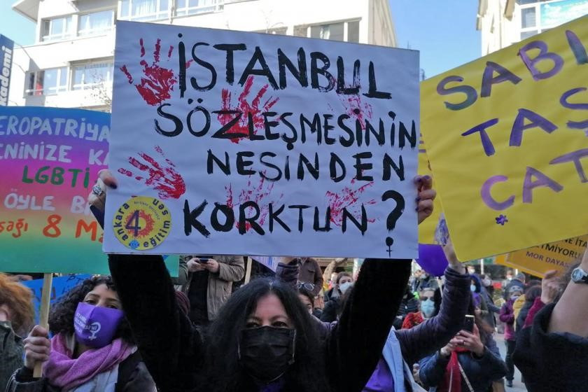 Demonstrant:innen Istanbul
